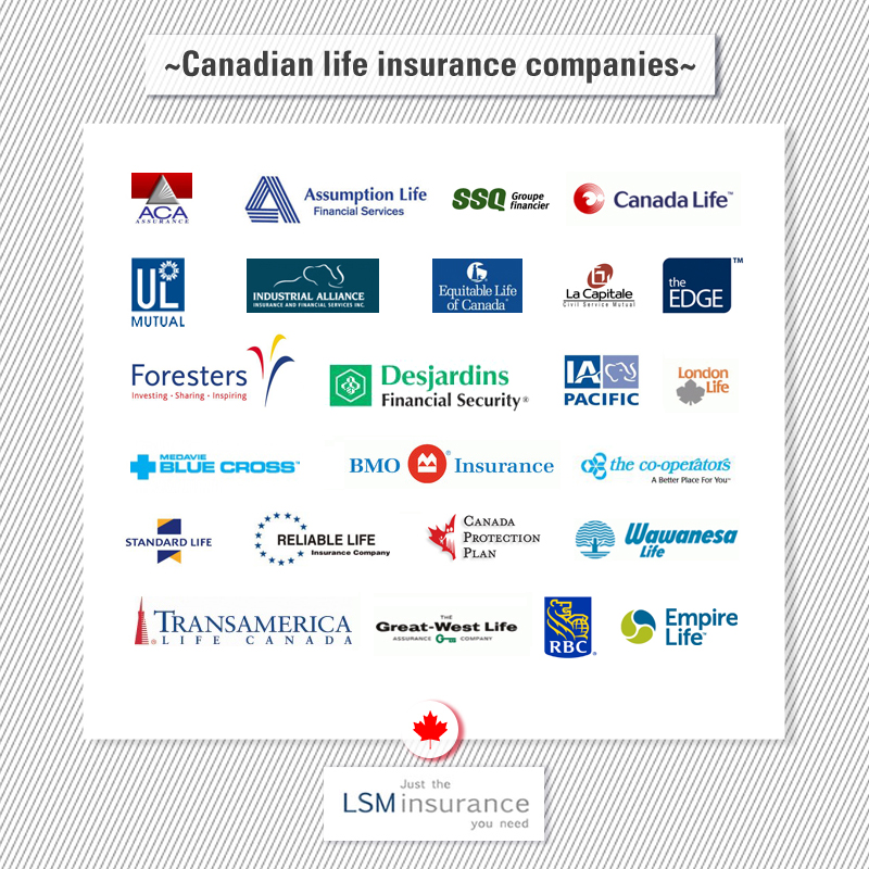 List of Canadian Life Insurance Companies | Life Insurance ...