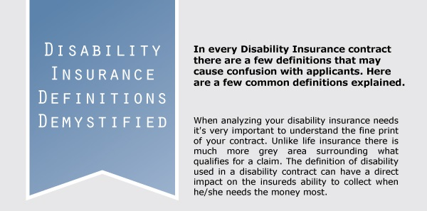 INFOGRAPHIC: Disability Insurance Demystified | Life ...