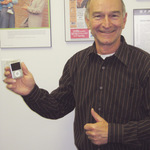 May contest winner of iPod
