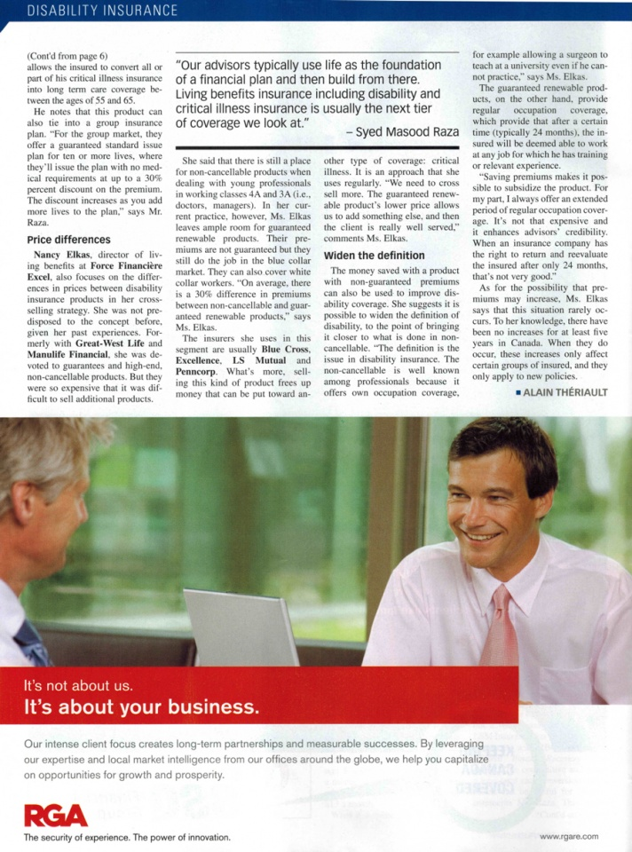LSM May 2012 Insurance Journal 2