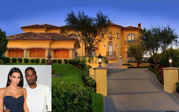 Kim Kardashian and Kanye West new Bel Air house