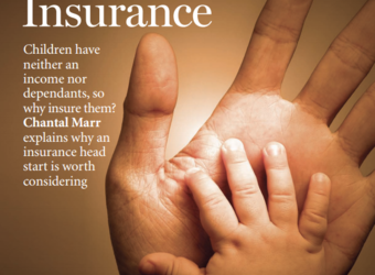 Chantal Marr in Forum Magazine: Kids & Insurance