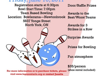 Lupus Ontario and LSM Insurance Pair Up for the 4th Annual Lupus Bowl