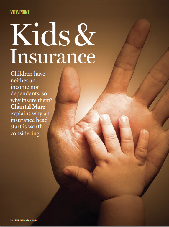 Advocis Kids Insurance Chantal Marr