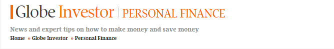 Globe Mail Personal Finance Logo