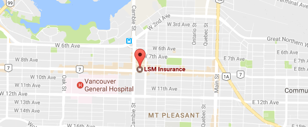 Vancouver Life Insurance Instant Quote Location